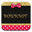 Pink Gold Bowknot  icon