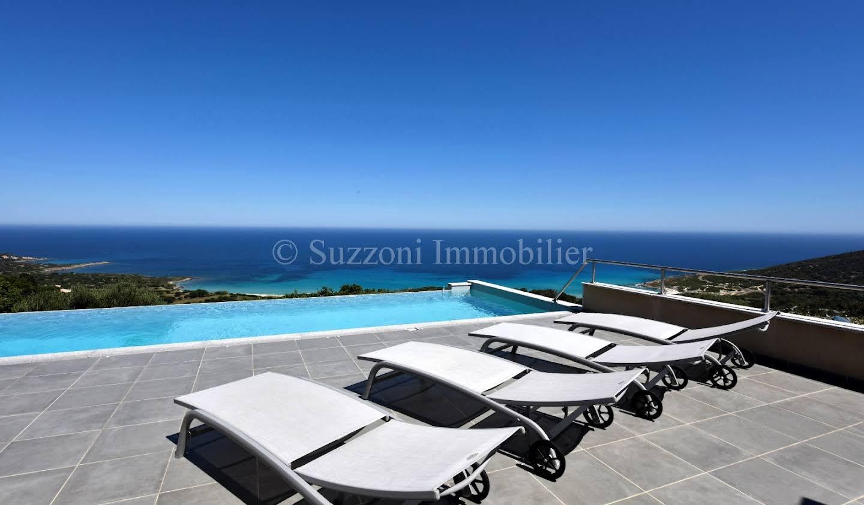 Villa avec piscine en bord de mer L'Ile-Rousse