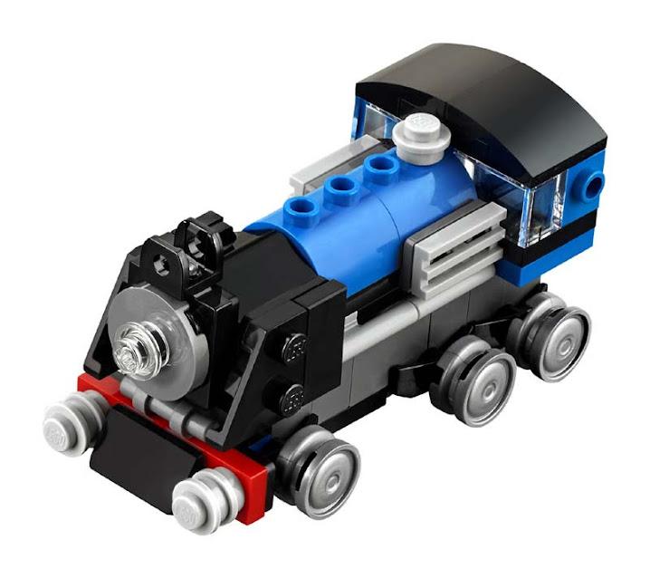 Contenido de Lego® 31054 Expreso Azul