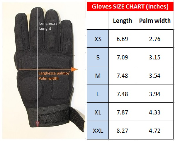 Combat Gloves ........................................................................ $45.47 + tax