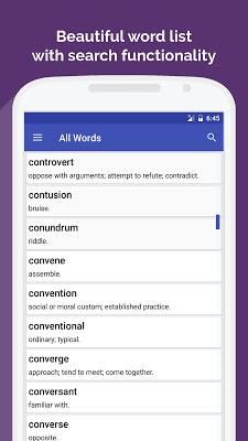 CAT Vocabulary - screenshot