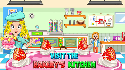 My Town : Bakery & Cooking Kids Game android2mod screenshots 3