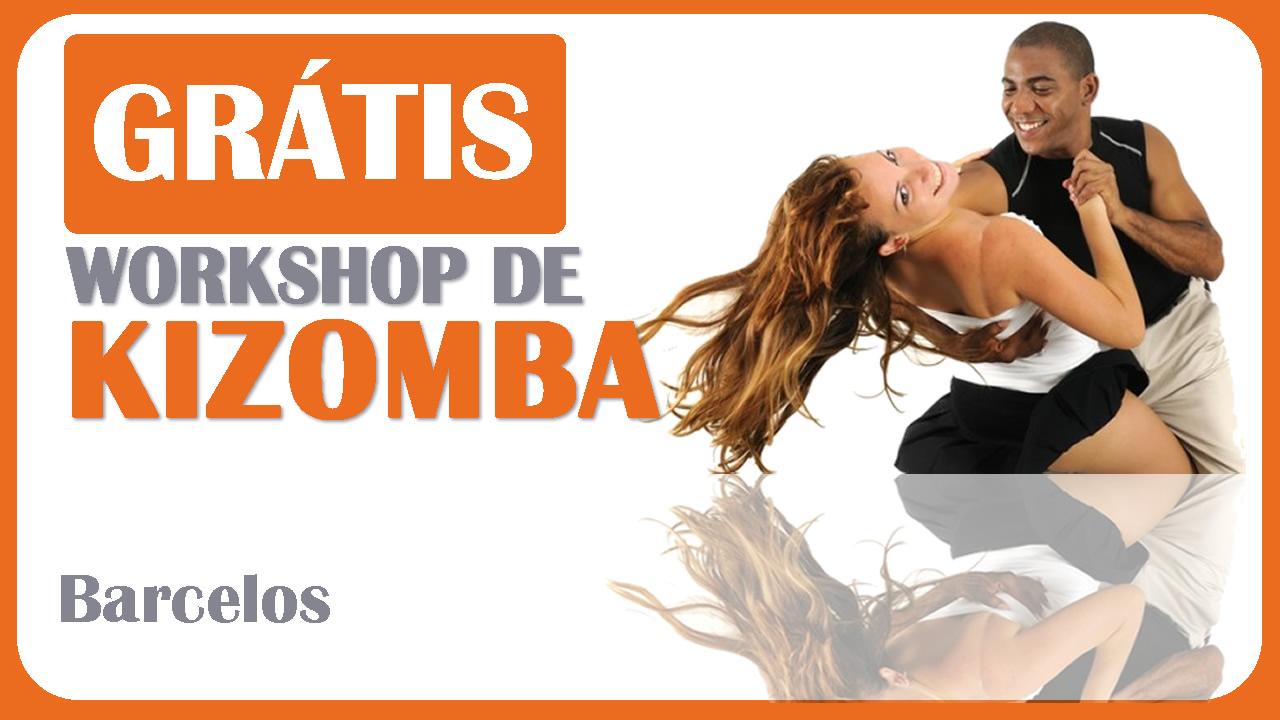 Workshop Grátis de Kizomba em Barcelos com a Academia João Capela