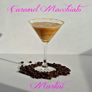 Salted Caramel Macchiato Martini.