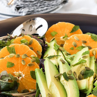 Citrus Avocado Salad with JalapeñO Vinaigrette Recipe