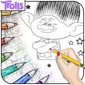 Drawing Coloring Trolls