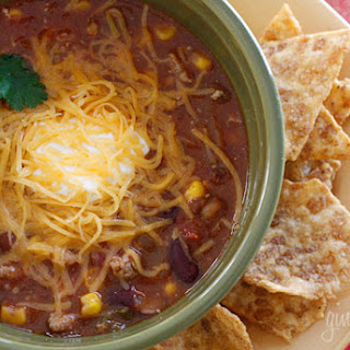 Turkey Chili Taco Soup