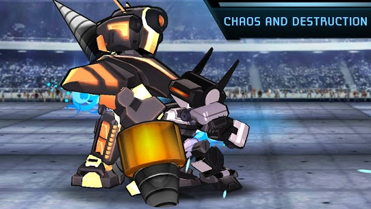 Megabot Battle Arena: Build Fighter Robot Apk Download For Android and Iphone 6
