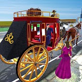 Horse Carriage Transporter: Cart Riding Simulator