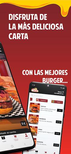 Charlie Burger Food captures d'écran 2
