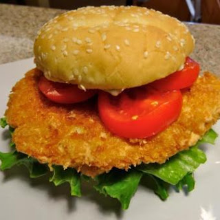 Maggie's Shrimp Burger