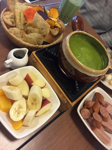 抹茶起士鍋~意外的發現 好吃唷!