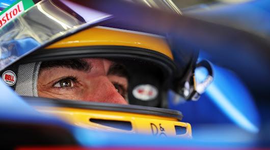 Fernando Alonso en el regreso a la F1 con Alpine