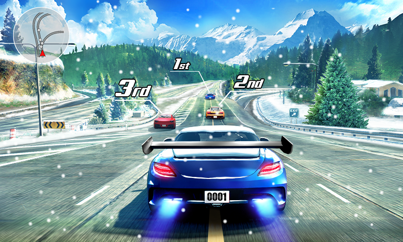 Street Racing 3D Android App Screenshot