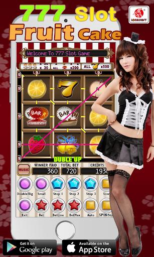 777 Fruit Cake Slot Machine