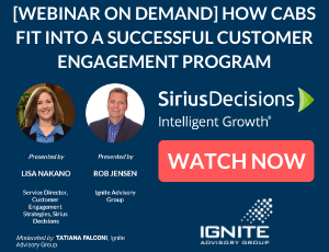 Webinar On Demand Featuring Sirius Decisions