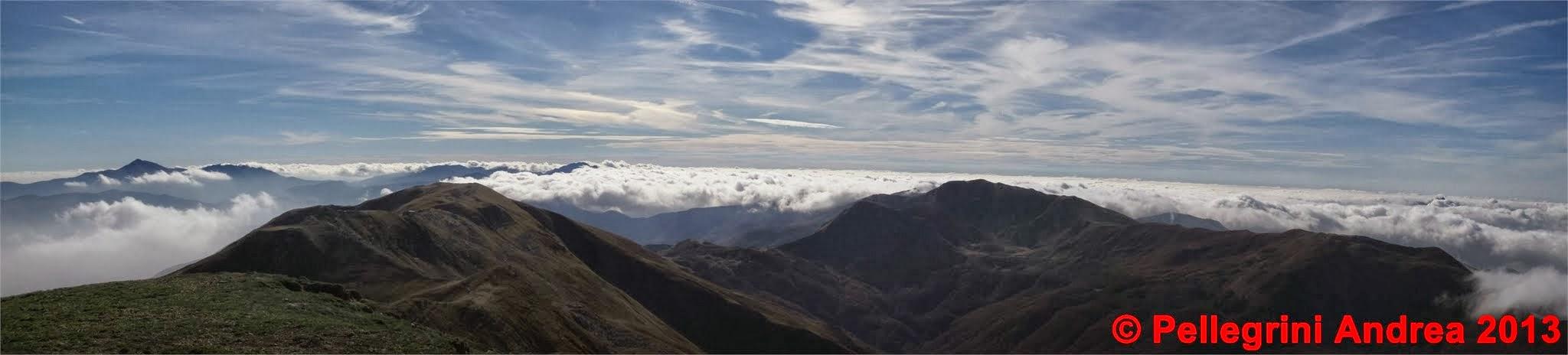 Photo: Panorama 3 dal Cusna, da la Piella al Prado