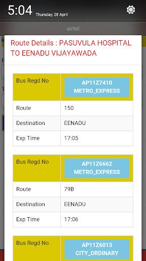 APSRTC City Bus Live Track  screenshots 4