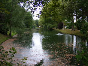 Photo: The Meissonnier Park is on the grounds of the former Dominican Priory's gardens, and was acquired by the town and converted into a public park in 1976. It is centered on this small lake, informally landscaped in the English garden style.