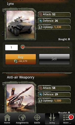 War Game - Combat Strategy Online 4.1.0 screenshots 9