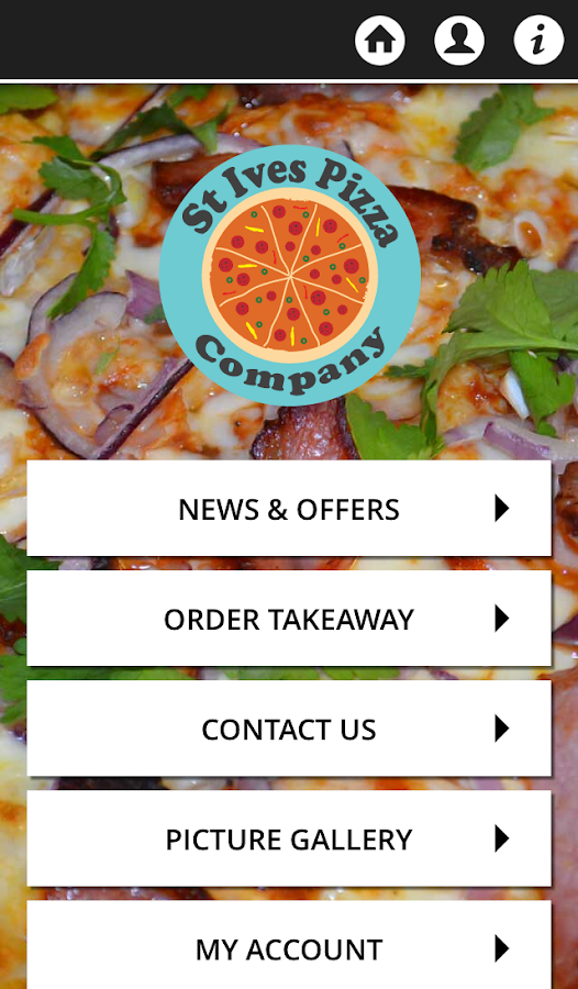 St Ives Pizza Company- screenshot