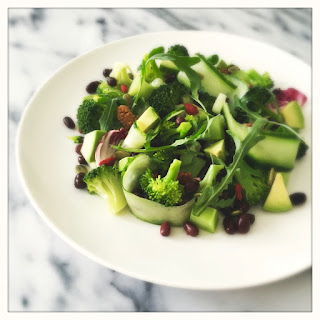 Detox Salad with Broccoli and Asian Sesame Dressing