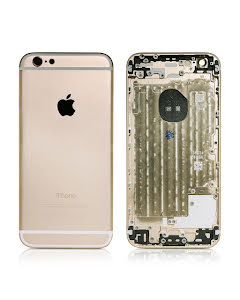 iPhone 6G Housing without small parts HQ Gold