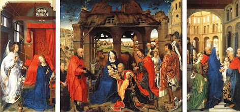 Photo: St Columba altarpiece, c. 1460