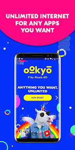 App Ookyo – Unlimited Hi-Speed Internet for All! APK for Windows Phone