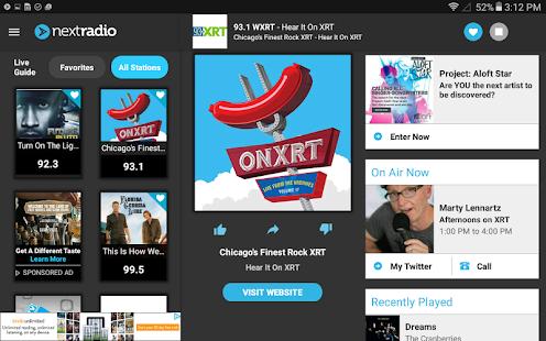 NextRadio Free Live FM Radio Screenshot 14