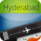 Hyderabad Airport + Radar HYD icon