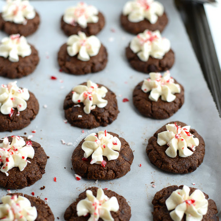 Paleo Hot Cocoa Cookies with Coconut Whipped Cream Recipe