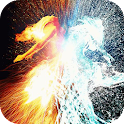 Two elements Live Wallpaper icon
