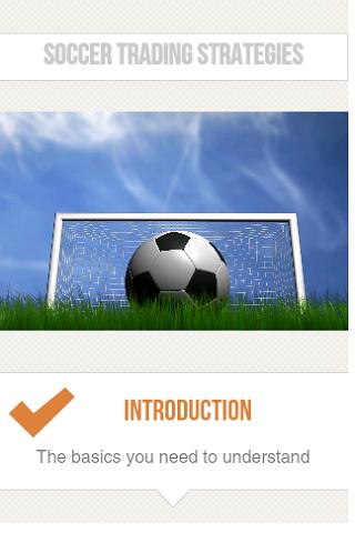Trading soccer strategies