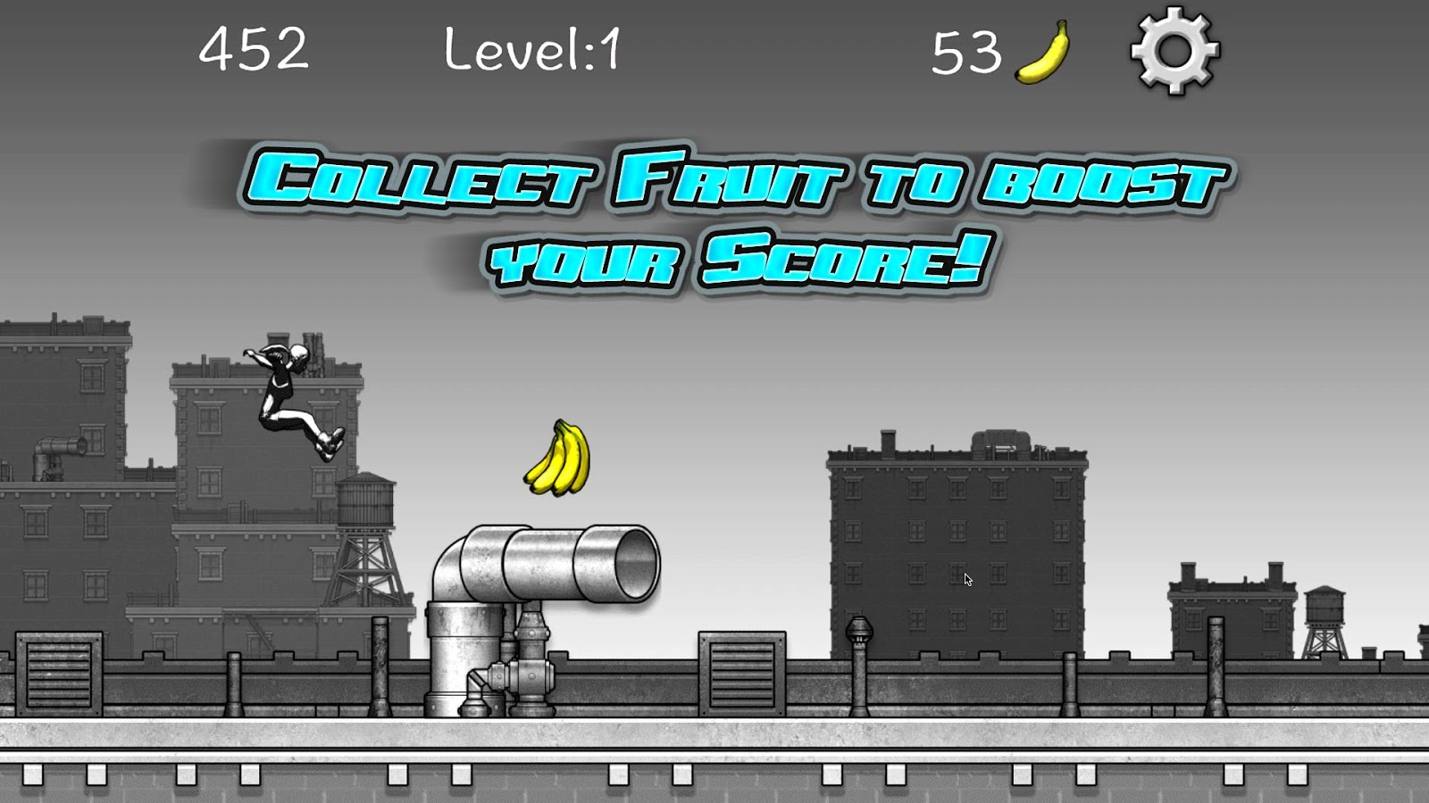 Mega City Runner- screenshot