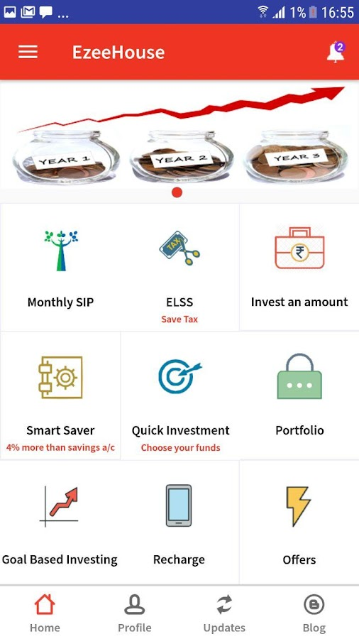 EzeeHouse-Best Mutual Fund Investment App in India- screenshot