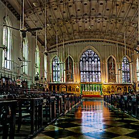 by Debasis Banerjee - Buildings & Architecture Places of Worship ( monuments, west bengal, church, saint paul's church, kolkata, india )