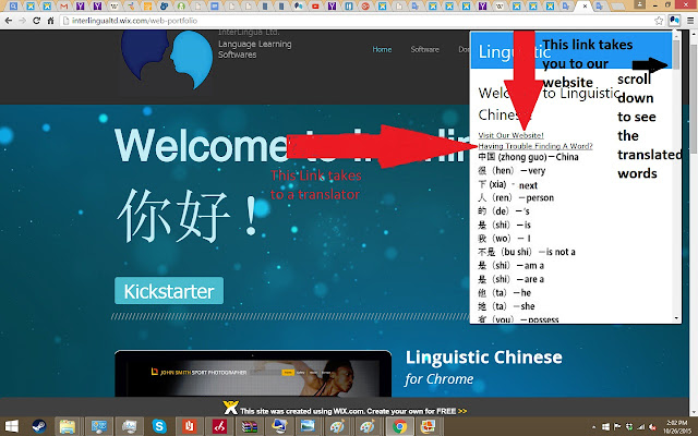 Linguistic Chinese
