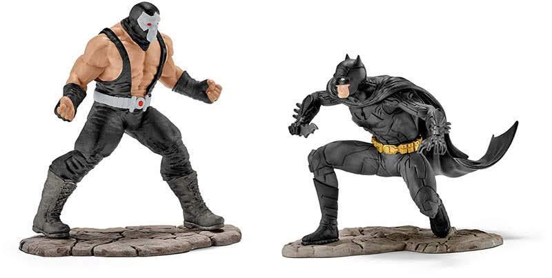 Contenido de Schleich® 22540 Batman Versus Bane