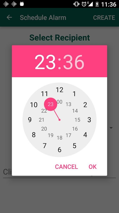 Scheduler for WhatsApp- screenshot