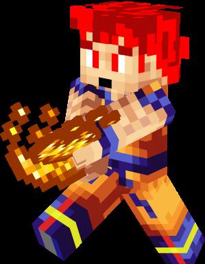 Goku Dios Nova Skin - Skins para minecraft pe de goku