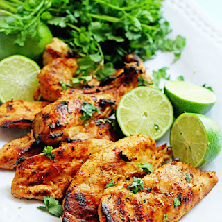 Grilled Tequila Lime Chicken Breasts