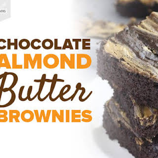 Chocolate Almond Butter Brownies.