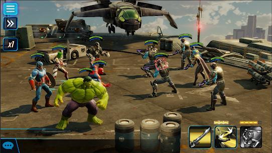 MARVEL Força Strike Apk Mod (Skill Infinita) 6