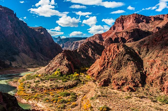 Photo: At the end of the South Kaibab Trail down the South Rim of Grand Canyon National Park, Arizona, USA