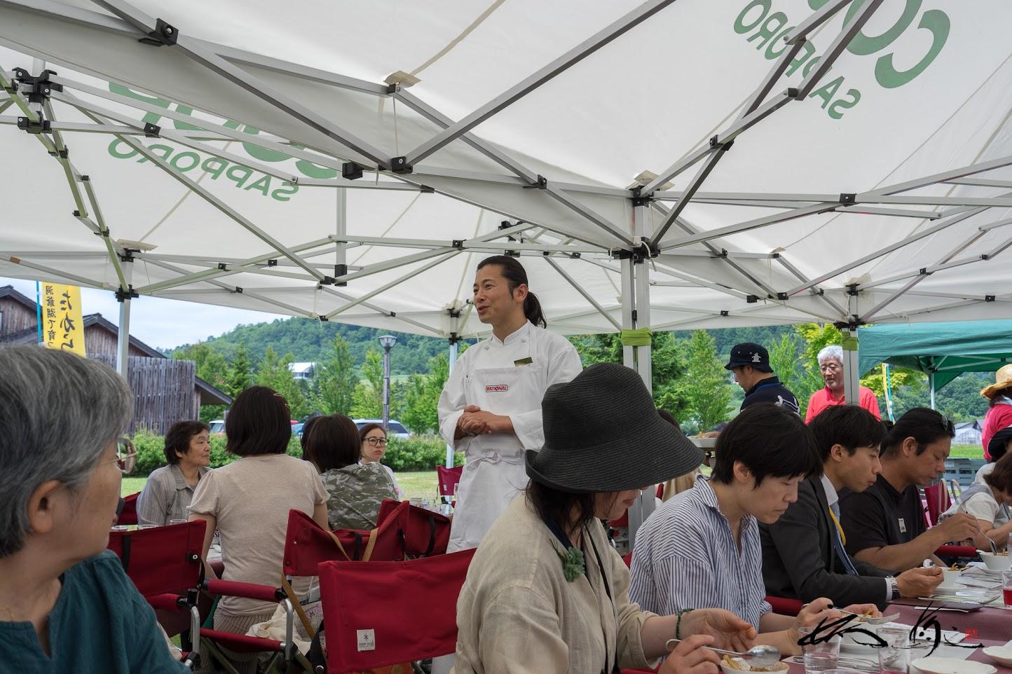 宮の森ミュージアムガーデン(札幌市)の田口智也総料理長