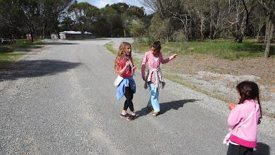 Photo: Hotpants teaching Lalabird how to Irish dance :-)