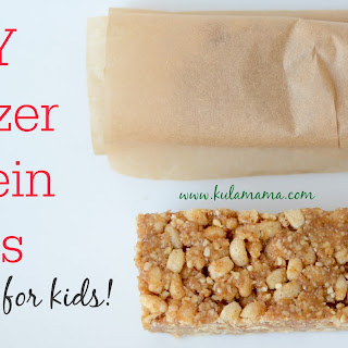 DIY Freezer Protein Bars for Kids