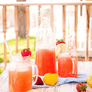 Summery Strawberry Lemonade
