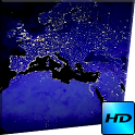 Night Planet Video LWP icon